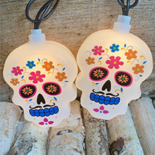 10L Day of the Dead Light Set PD-H26F6135