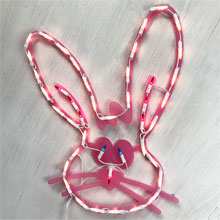 Eastery Bunny Window Light HOF-1546B