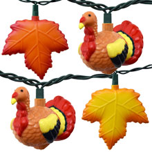 Thanksgiving String Lights Outdoor : Party & String Lights for Holidays - Commercial Globe String Lights - Outdoor & LED