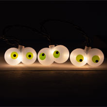 Crazy Eyeball Party String Lights