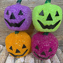 Battery Operated Halloween Pumpkin Lantern