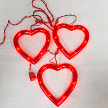 Heart Sculpture Party String Light Set