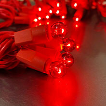 Red Globe String Lights - 35 Count DR-620271R