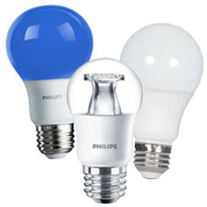 A-Shape LED Light Bulbs