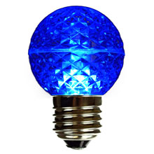 Blue LED Globe Light Bulb