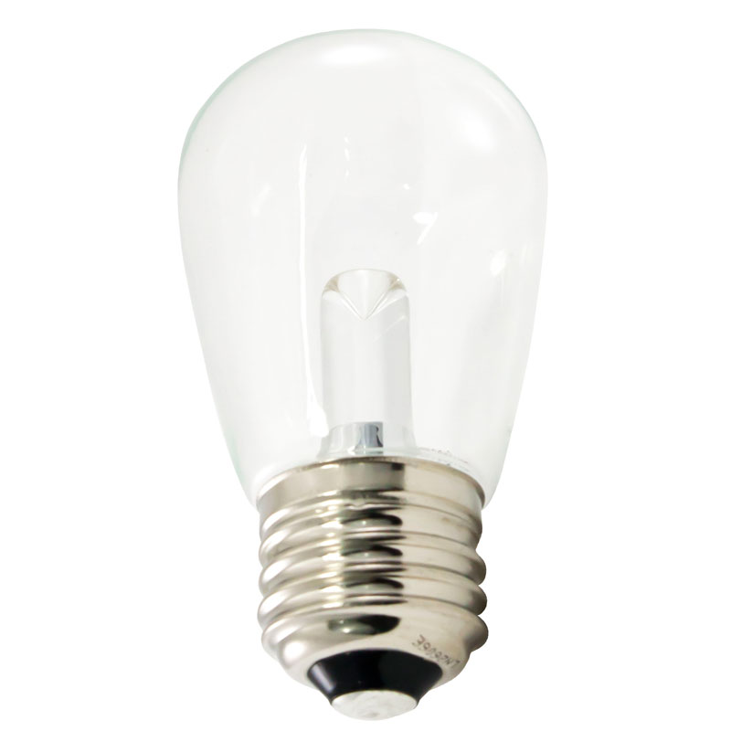 Warm White LED Professional S14 Light Bulb - Plastic