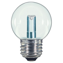 Warm White Professional Series LED G50 Light Bulbs - Plastic