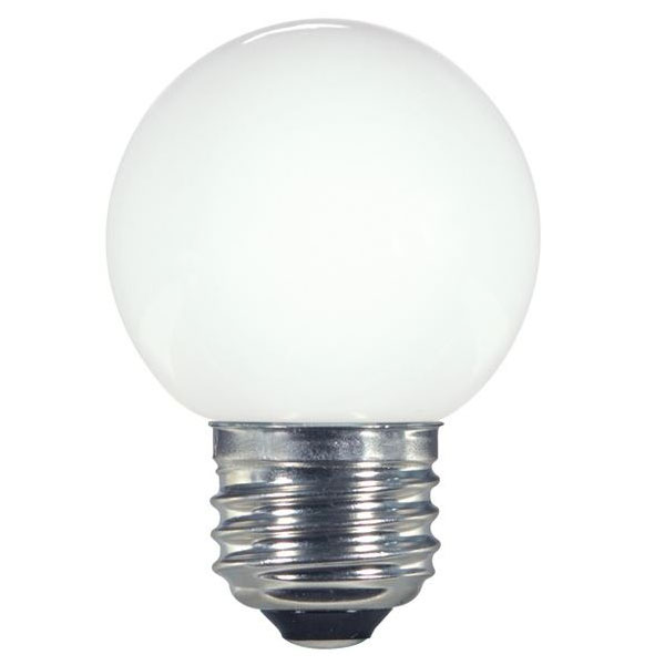White G16.5 LED Globe Light Bulb - 1.4W 501197