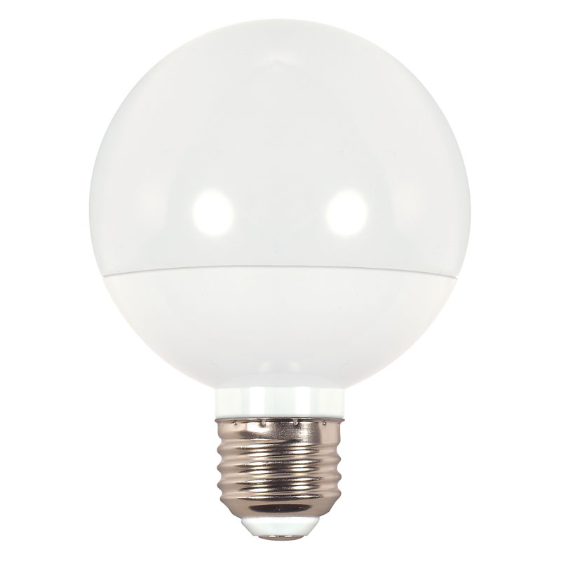 Frosted G25 LED Globe Light Bulb - 6W 501631