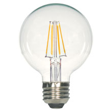 Clear G25 LED Globe Light Bulb - 4.5W 525014