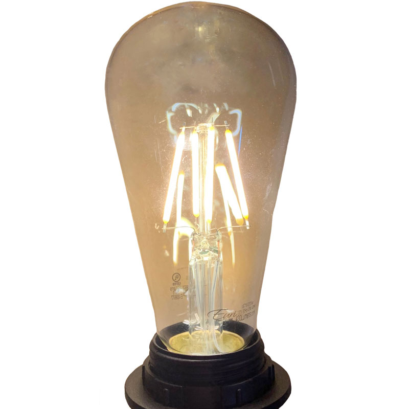ST19 Vintage LED Filament Light Bulb VST19-2000EA