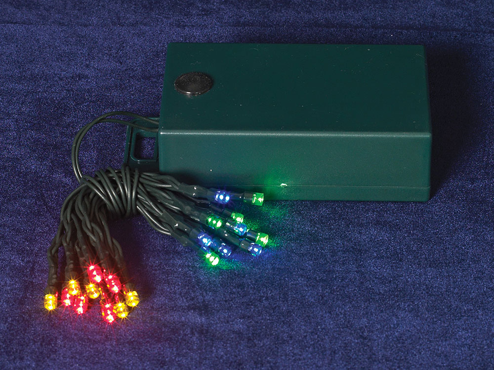 battery operated 20 led multi color tiny lights