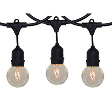 G50 Globe Commercial String Lights