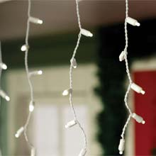 LED Icicle String Lights - Warm White SF-1101456
