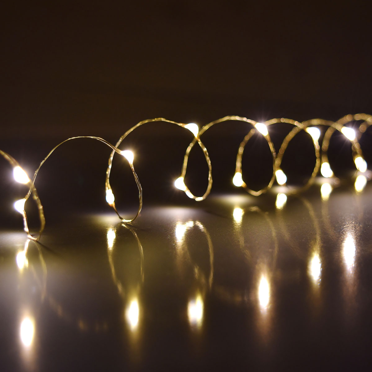 Ultra Thin Led Battery Operated String Lights 60