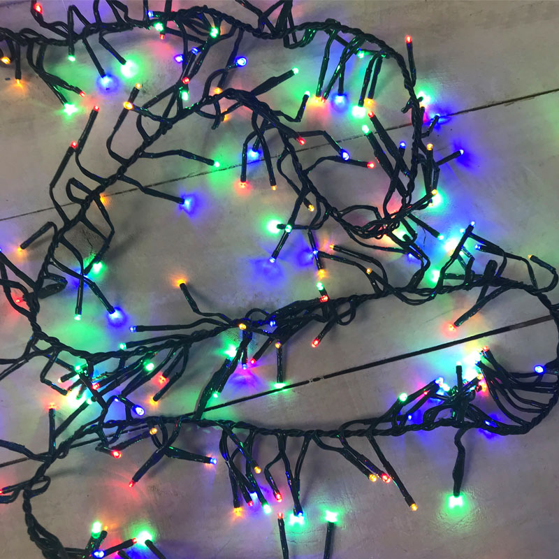 3mm Wide Angle LED Fire Cracker Lights - Multi-Color SF-1102412