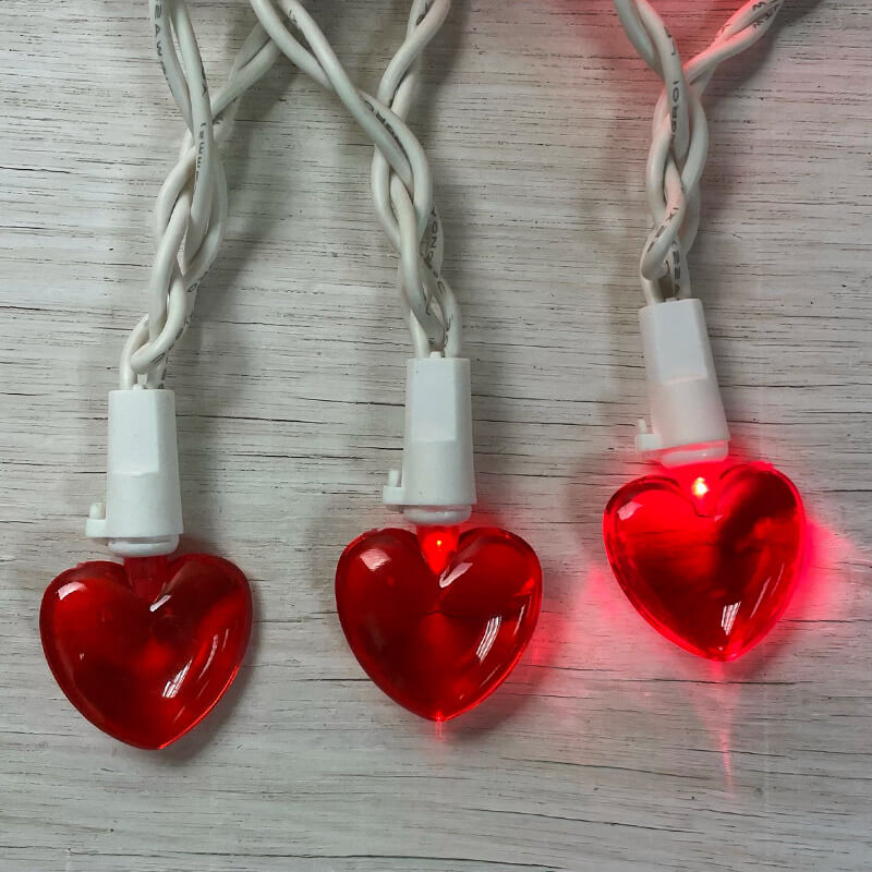 Valentine S Day Mini Heart Led String Lights