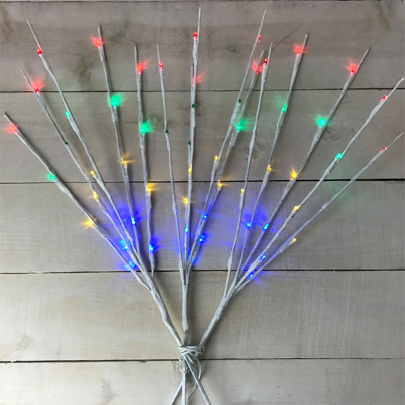 Multi-Color Twinkling Pathway Lights - Set of 3
