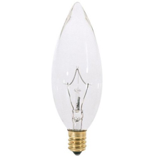 25W Clear Torpedo Light Bulb