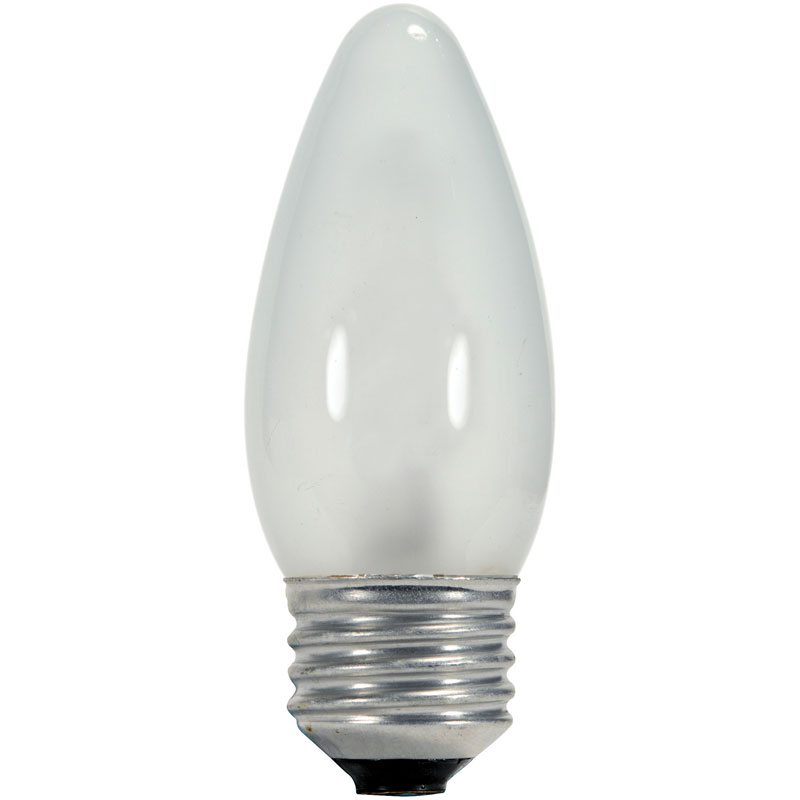 60 Watt Frosted Torpedo Light Bulb