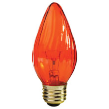 Amber F15 Flame Light Bulb - 25W 504225