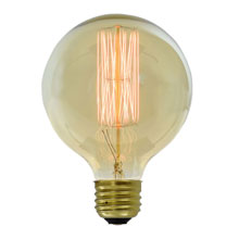 Large Globe Edison Antique Light Bulb