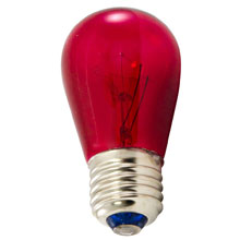 Red Carnival Lights Bulbs