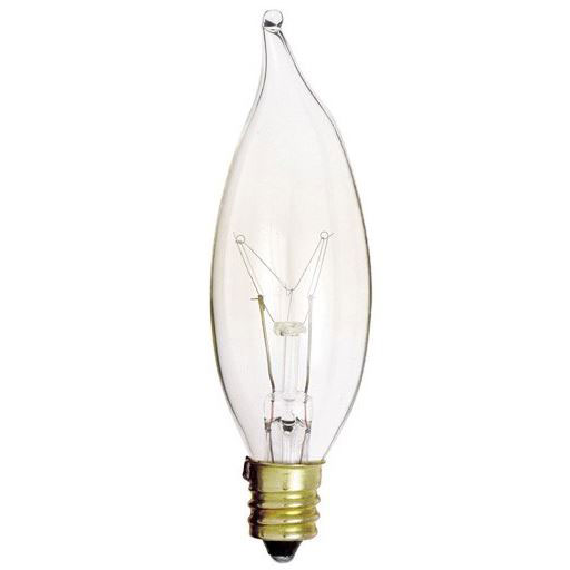 25W Clear Decorative Light Bulbs