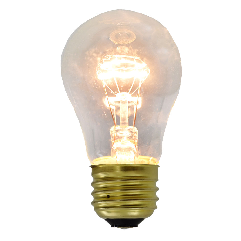 15 Watt Medium Base Commercial Light Stringer Bulbs - Clear - 10 Pack