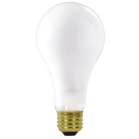 200W A23 Industrial Frosted Light Bulb