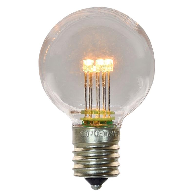 G40 E17 Globe Light Bulb - Plastic