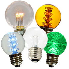 Globe LED Light Bulbs
