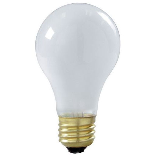 A19 Shatterproof Rough Service Light Bulb - 60 Watt