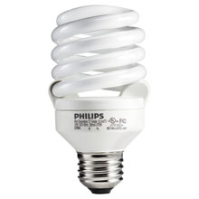 5 Pack 20W T3 Spiral CFL Light Bulb