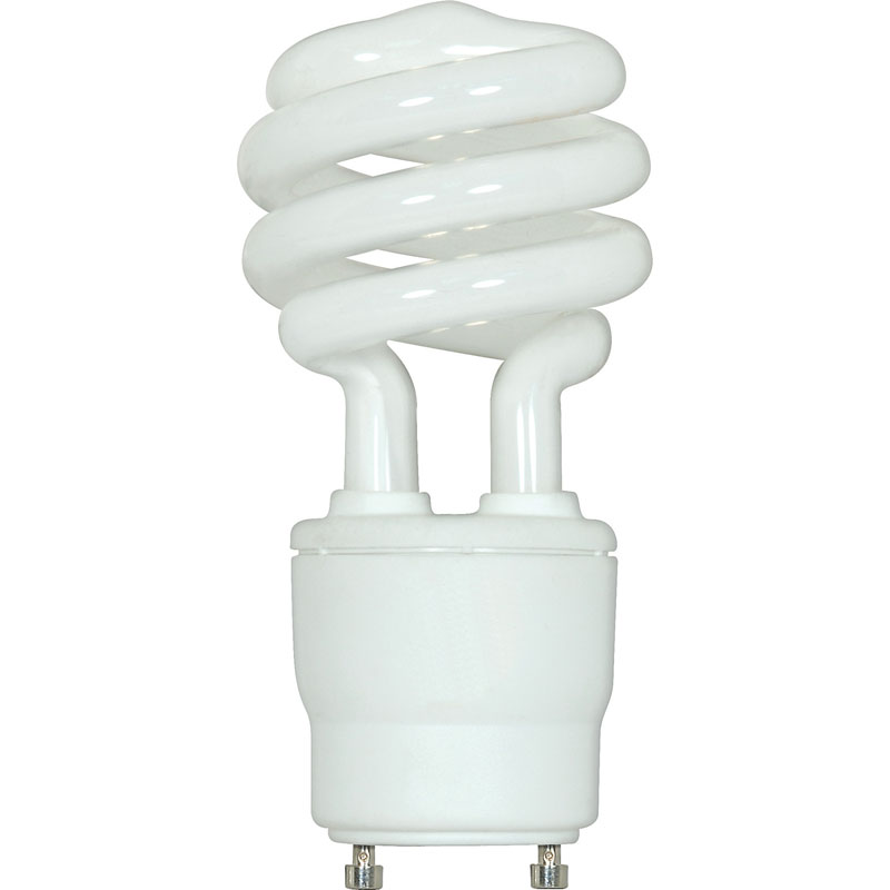 T2 Spiral CFL Light Bulb   Warm White   15W