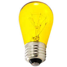 Yellow Carnival Light Bulbs