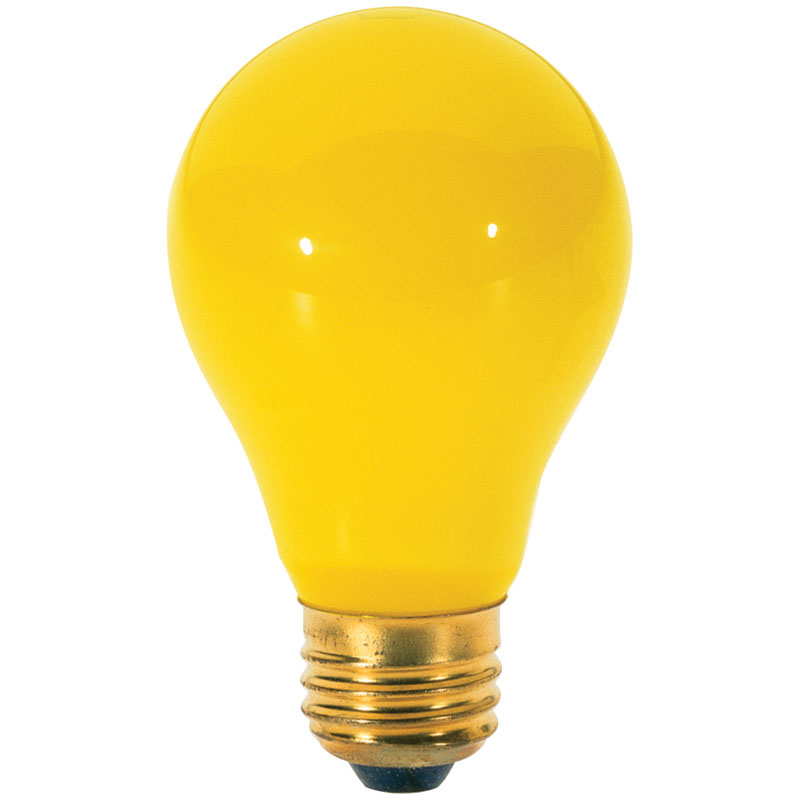 Yellow Bug A19 Light Bulb - 60W - 2 Pack
