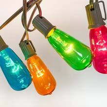 Edison Multi-Color String Lights DR-30018191