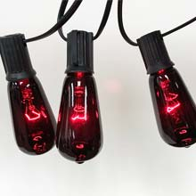 Edison Purple String Lights DR-30054639