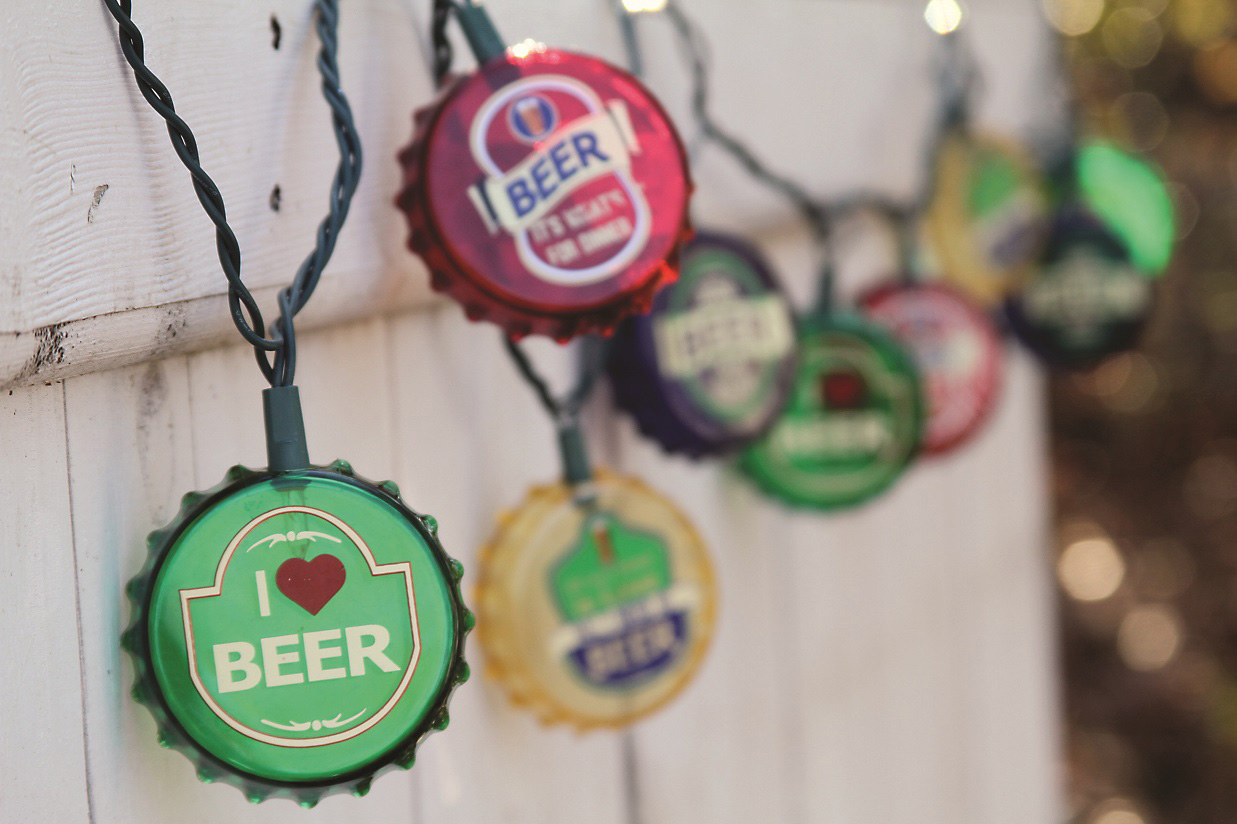 Beer Party String Lights : Drink Novelty String Lights - Oogalights.com - More Than 1,000 Party & String Light Bulbs!