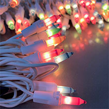 Easter Pastel Multi-Color Miniature String Lights - 100-Count PD-48458211