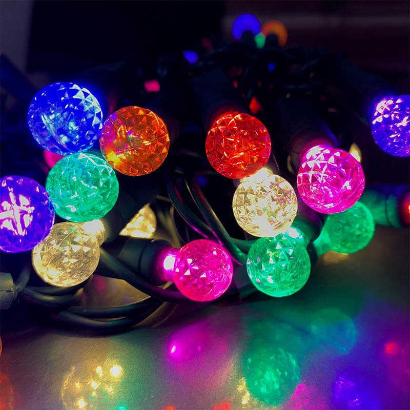 50L G12 LED Light Strand – Multicolor VM-9500MC