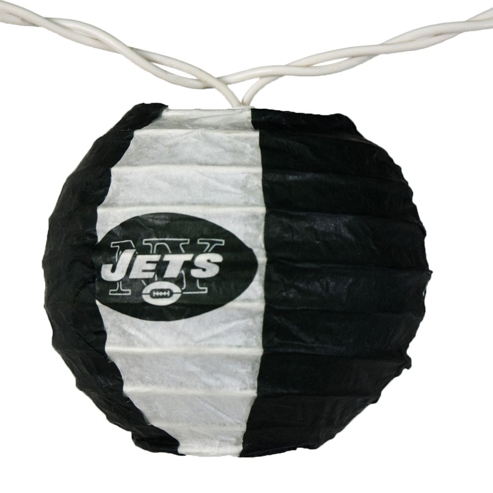 New York Jets NFL Logo Lanterns