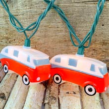 Retro Camper Party String Lights - 10 Lights
