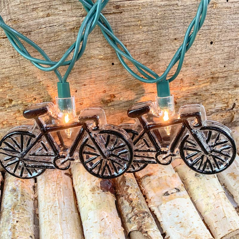 Bicycle Party String Lights - 10 Lights
