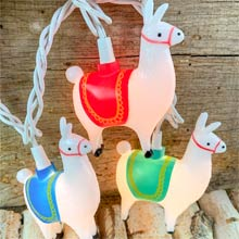 Llama Party String Lights - 10 Lights DE-70309