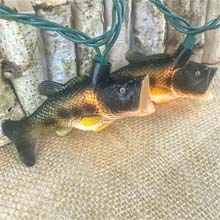 Bass Fish Party String Lights