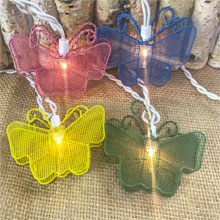 Wire Butterfly Party String Lights BS-60700
