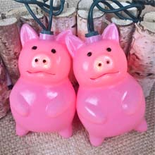 Pig Party String Lights UL4008