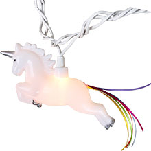 Unicorn Party String Lights - 10-Count DE-70077